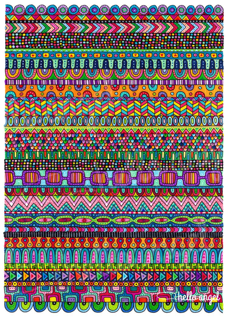 Oaxaca Mat — Hello Angel - THis is a totally different kind of art and I love it!!