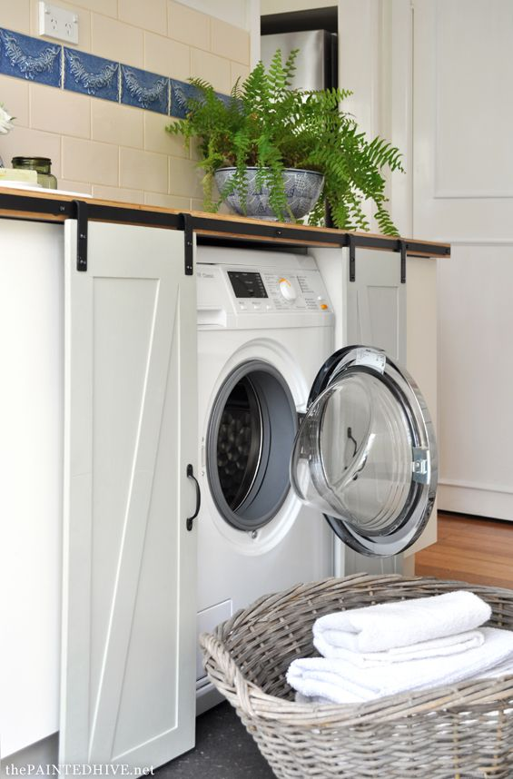 Now That Is Clever Especially If Your Laundry Is In A Visible