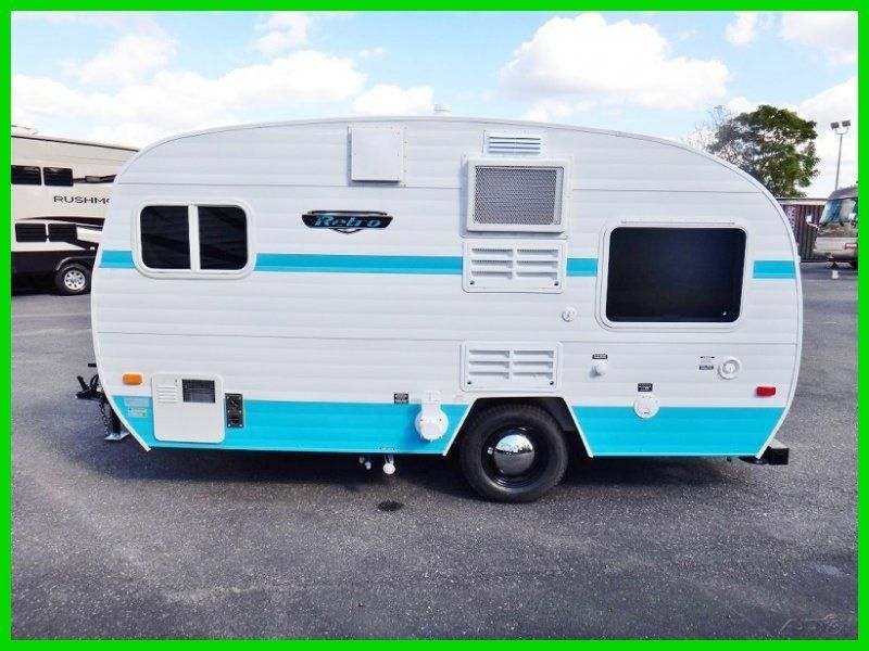 NEW Amish Built 2014 Riverside Retro 155 Light Weight Travel Trailer RV Camper