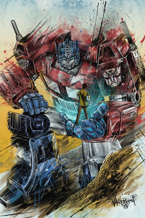 """Optimus they are planning to bring the Predacons to Earth! Shockwave will bring them."" Tom said to Optimus."