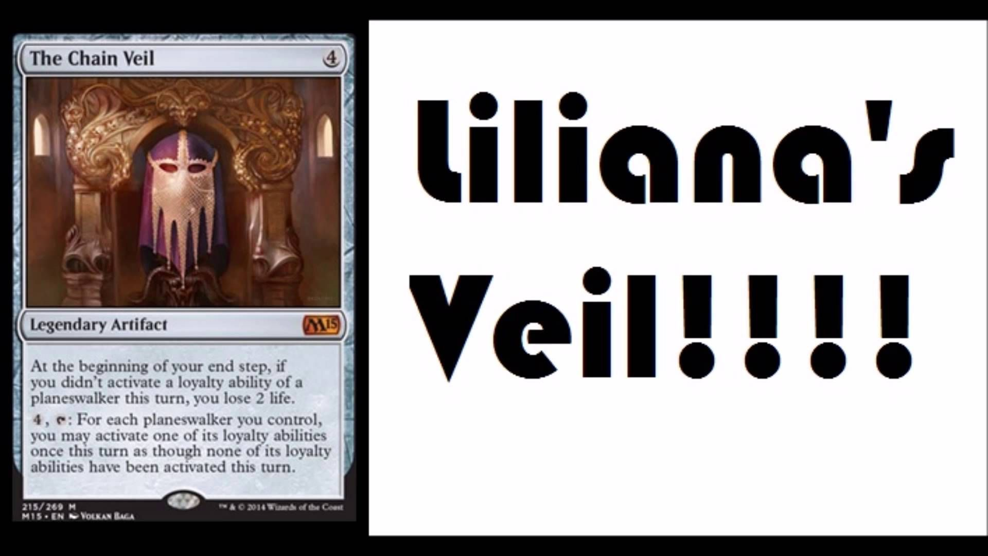 The Chain Veil M15 Spoilers Lilianas Veil Magic Channel
