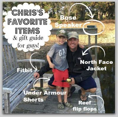 BEST FATHER'S DAY GIFT GUIDE YOU WILL EVER SEE!  If your hubby is hard to buy for, get him the Bose Speaker or Reef flip fops (with the bottle opener on the bottom) and he'll love you forever!  :)