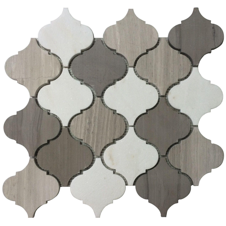Moroccan Pattern Mosaic Tile Kitchen Backsplash More