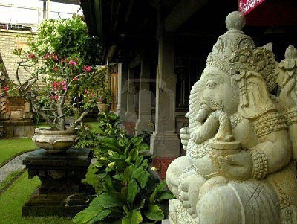 Ganesha statue in a Balinese garden | Gardens | Pinterest | Balinese ...
