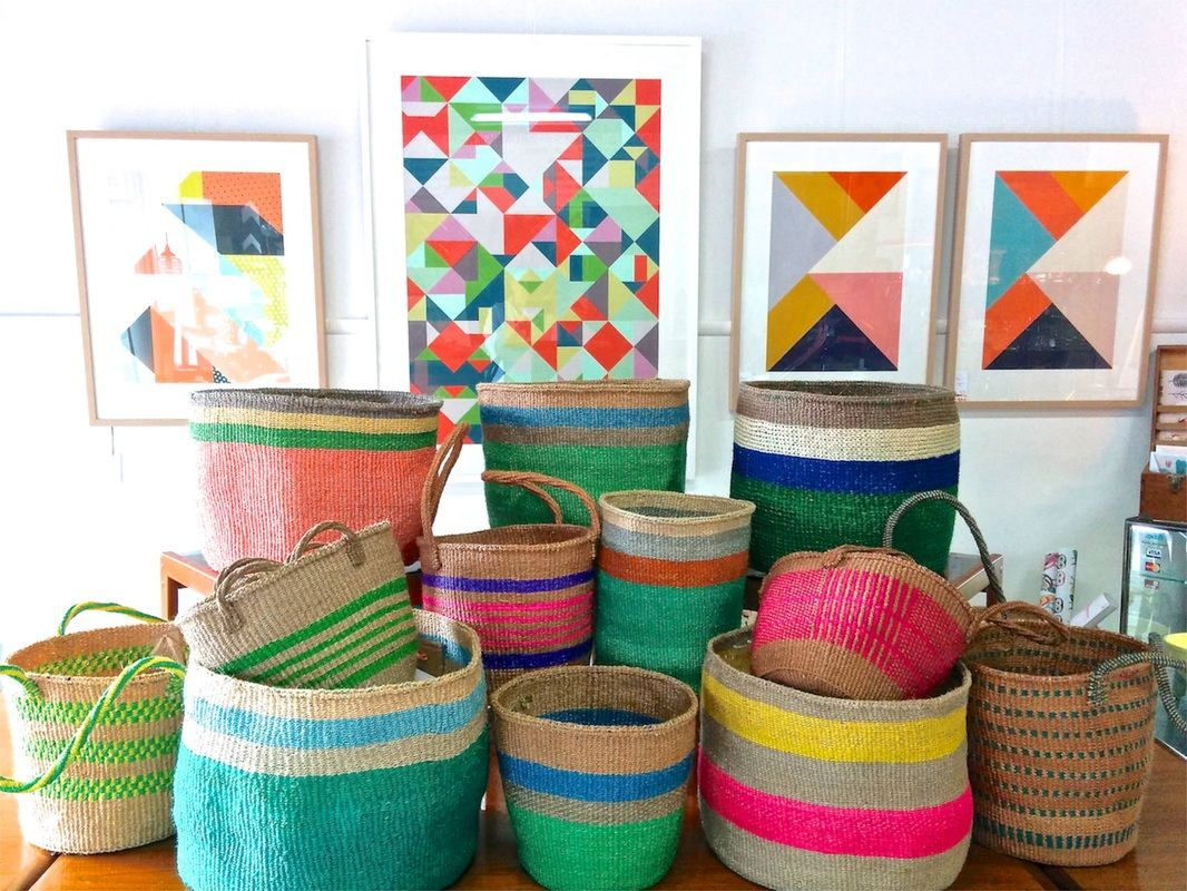 Woven Storage Baskets Melbourne : Glad to see my tribeswomen s baskets selling in melbourne
