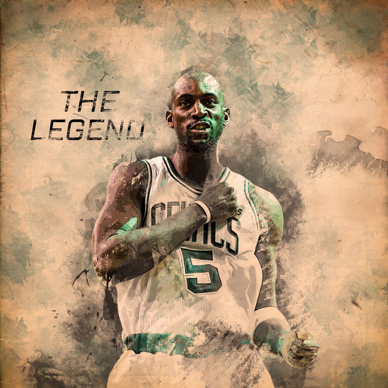 Kevin Garnett - Boston Celtics Absract Sketch art My Insta- https://www.instagram.com/aygbmn My devianart - https://www.deviantart.com/aygbmn
