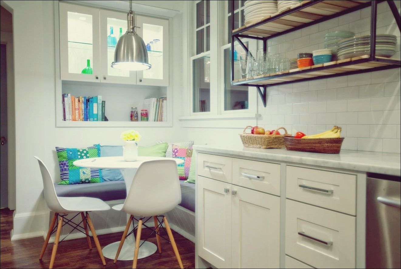Küchentische für kleine Räume mit großen Persönlichkeiten   Küche Deko   Sitzecke küche ...