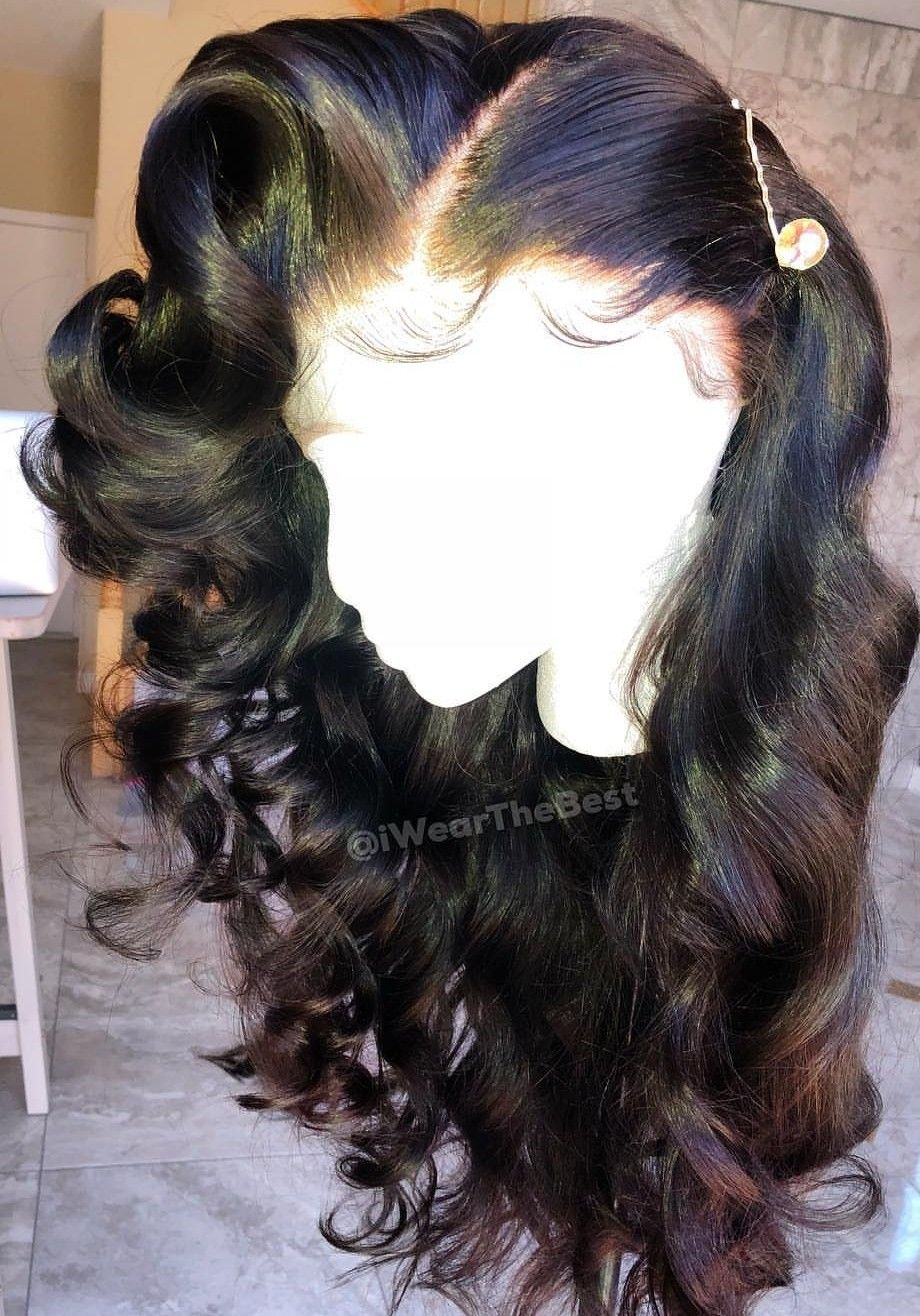 How Pretty Is This Human Lace Front Wigs Wig Hairstyles Human Hair Lace Wigs