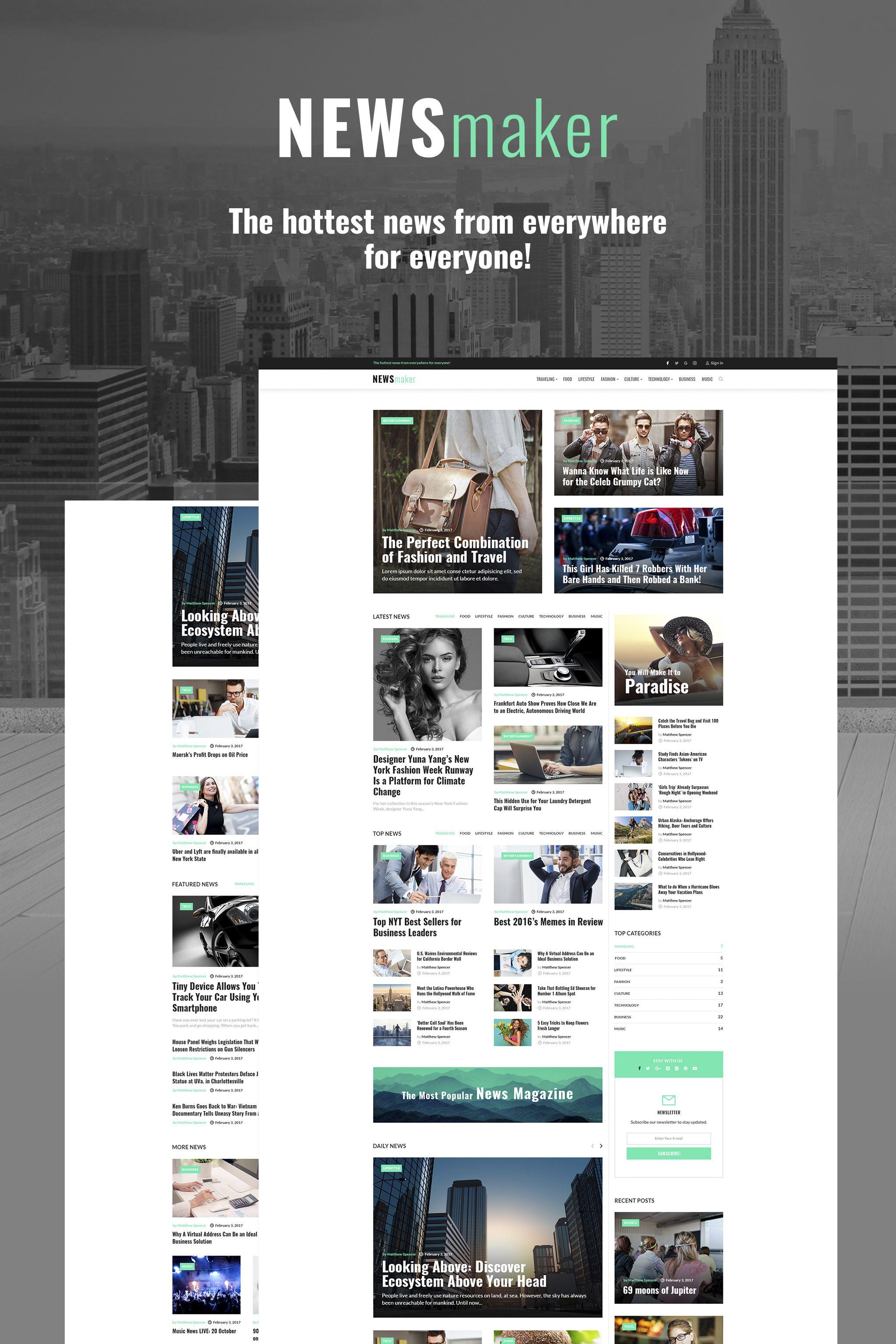 40 Best WordPress Business Themes