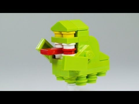 How To Build Lego Ghostbusters Slimer Custom Lego Instructions By