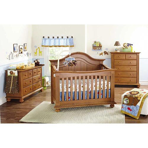 """Baby Cache Melbourne Lifetime Crib - Fawn - Baby Cache - Babies """"R"""" Us"""