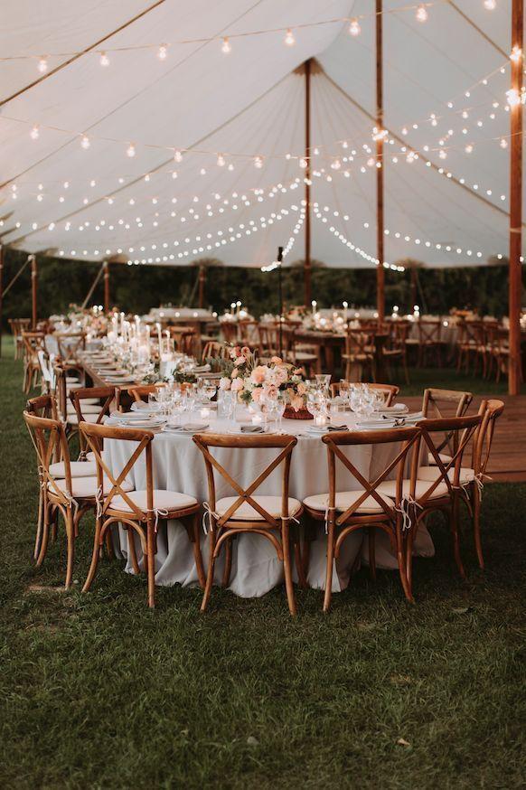Herbst Hochzeitsempfang Zelt Blumen von launischen Hochzeiten #outdoorflowers