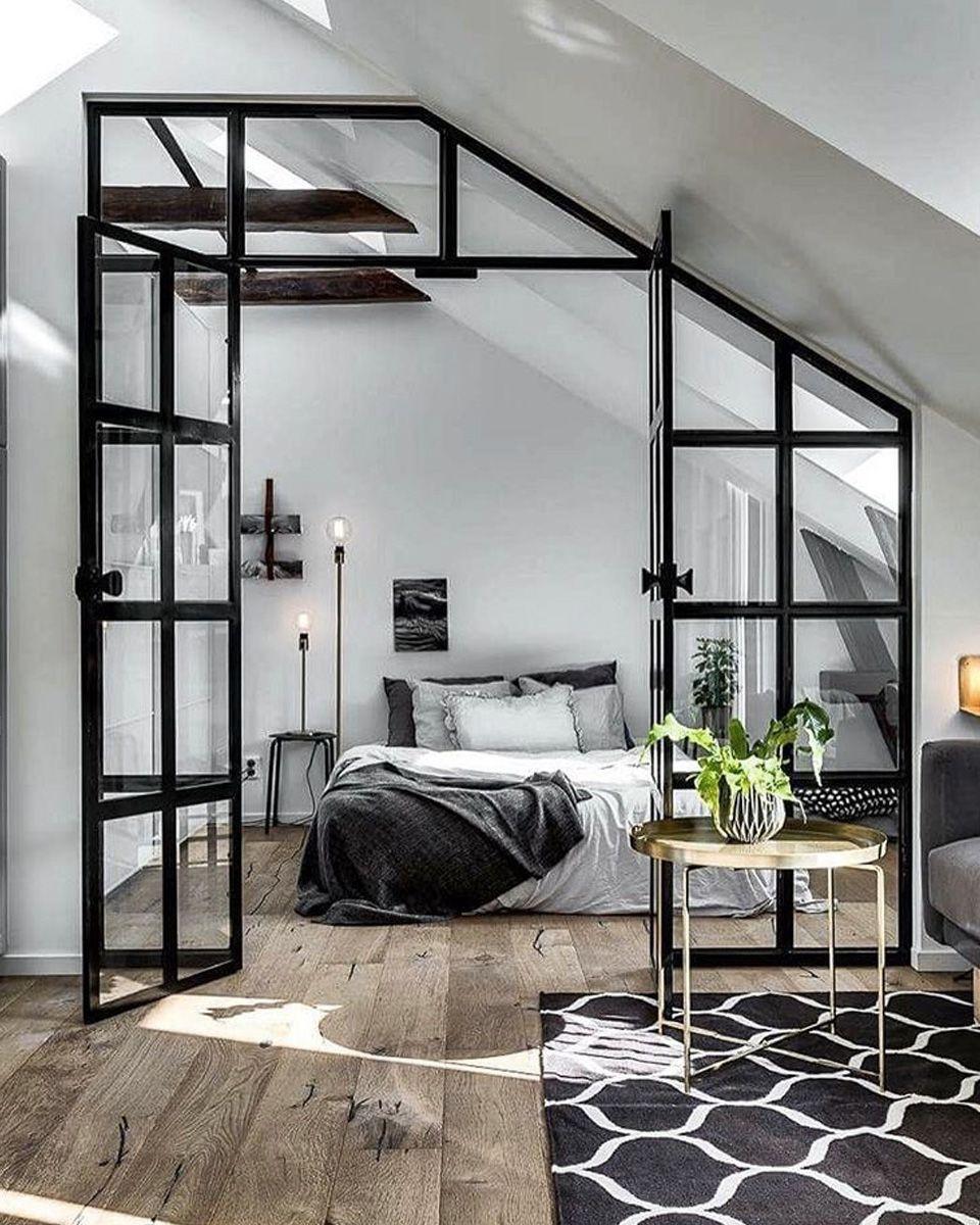 Une verrière dans ma déco | Bedrooms, Architecture and Decoration