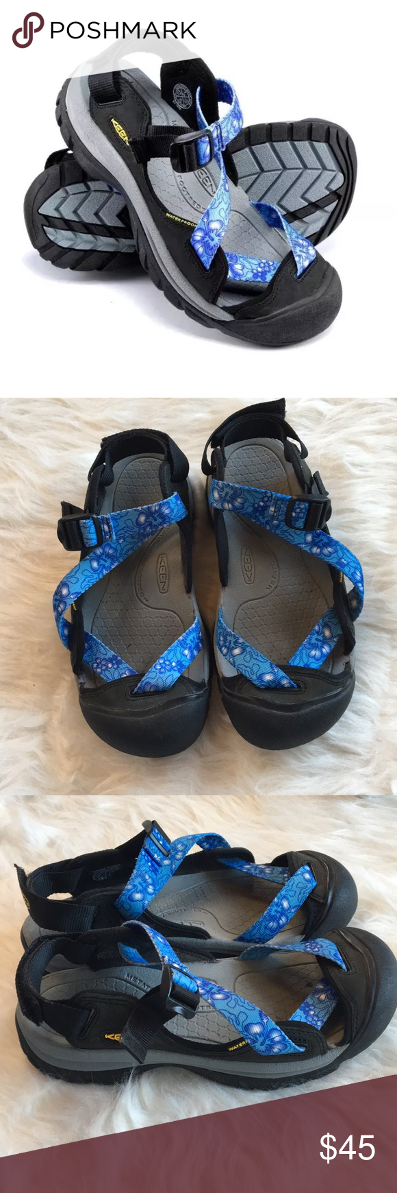 4a733fd278b8 Keen 8 zerraport sandal waterproof washable Like new with only a couple  minor signs of wear