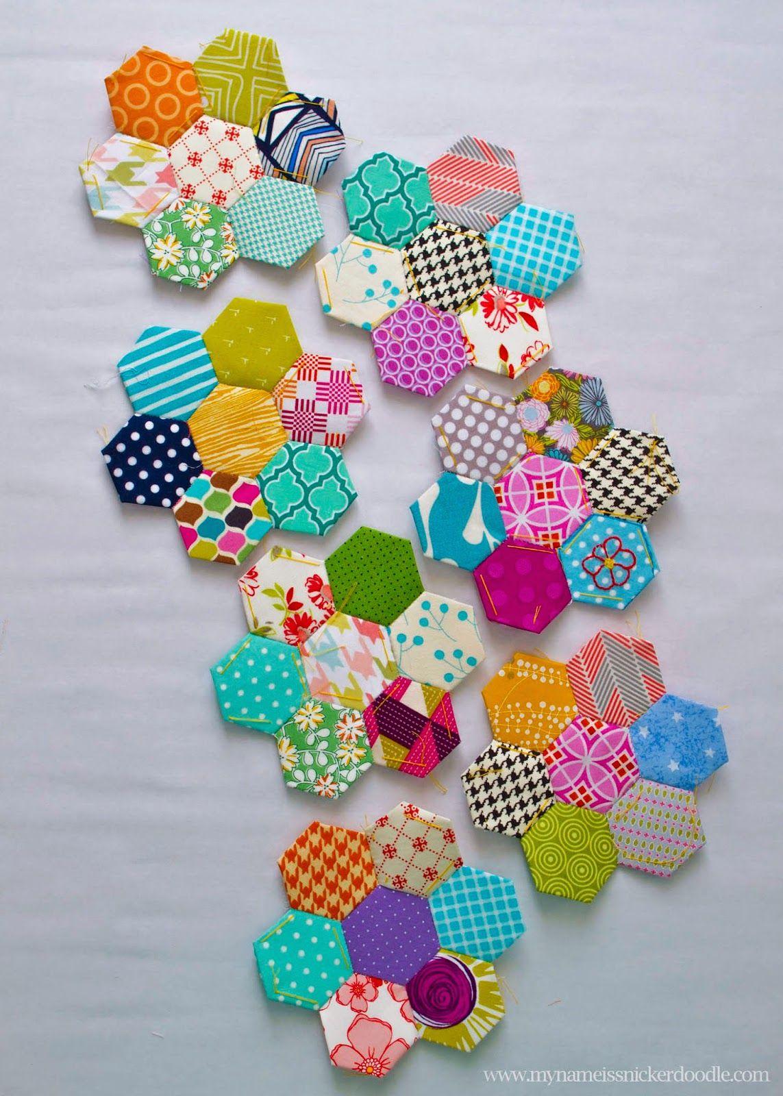 A love for hexagons hexagon quilt hexagon quilts online