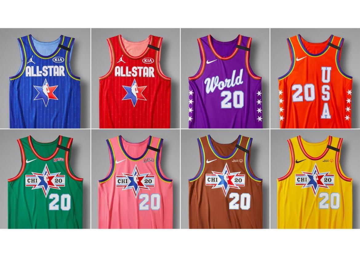The Jordan Brand And Nike Unveil Nba All Star 2020 Uniforms Pursuit Of Dopeness In 2020 Nba Fashion All Star Football Outfits