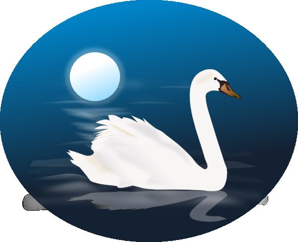 Swan Lake Clipart animated swans | Swan ...