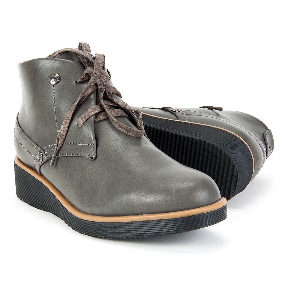 Botki Filippo Dbt231 16 Gr Szare Boots Chukka Boots Dress Shoes Men