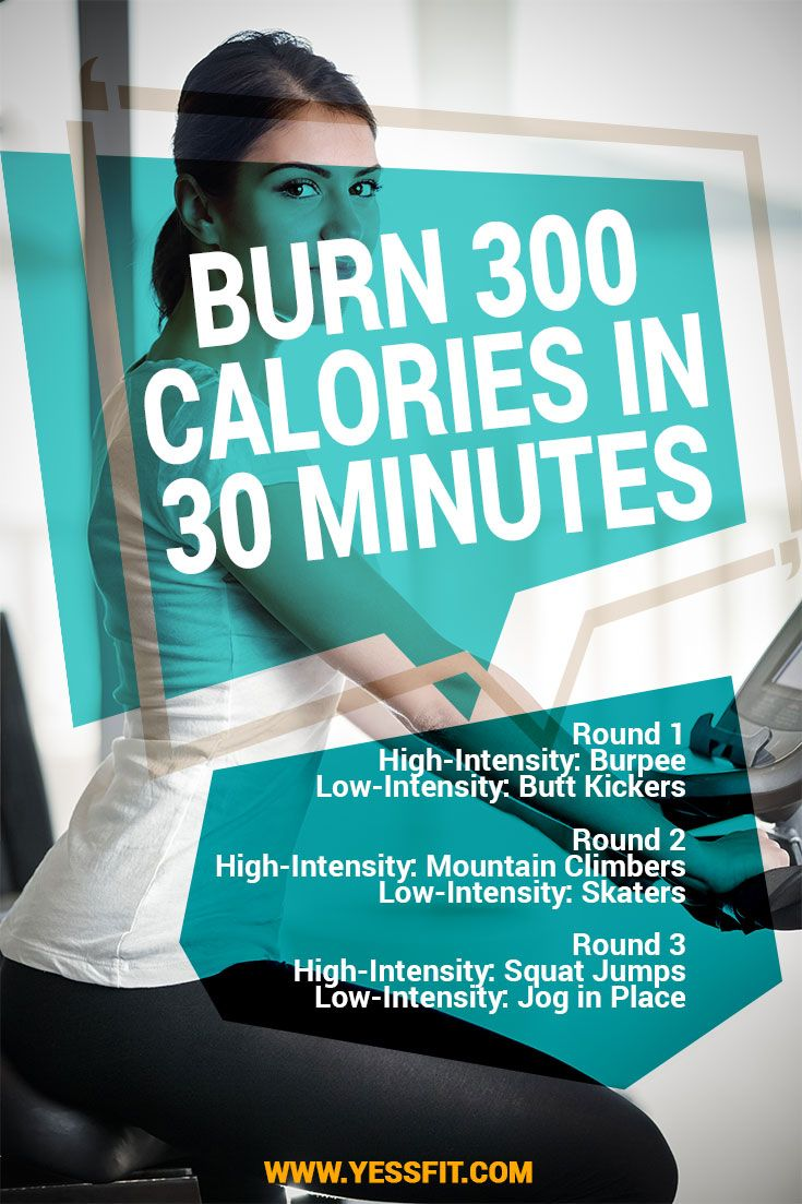 How to burn more than 300 calories in 30 minutes | health ...