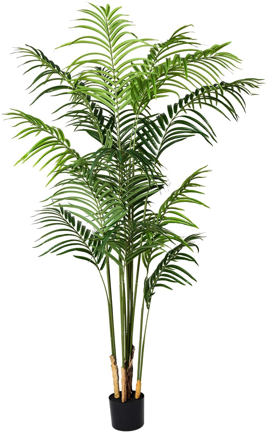 Amazon Com Artiflr 5 5 Feet Artificial Areca Palm Plant Fake Palm Tree With 15 Detachable Trunks Faux Tropical Plan In 2021 Fake Palm Tree Palm Plant Areca Palm Plant