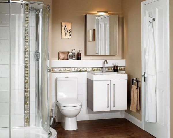 Ideas de ba os peque os con ducha 2016 el dorado es una for Decoracion banos pequenos con ducha