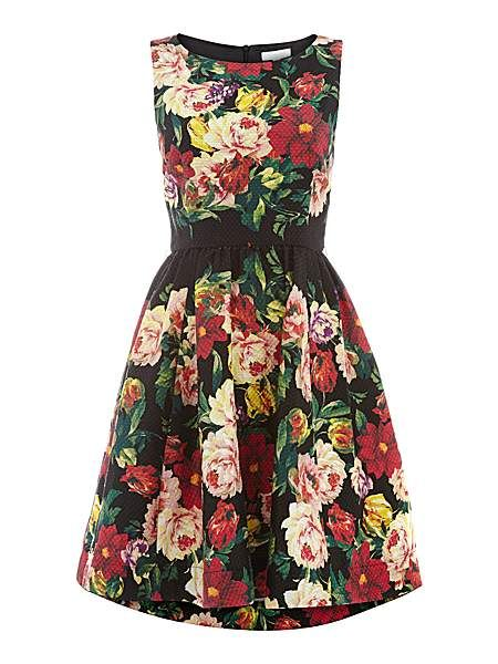 Piquet floral dress. Perfect for summer !!!  #HoFwishlist