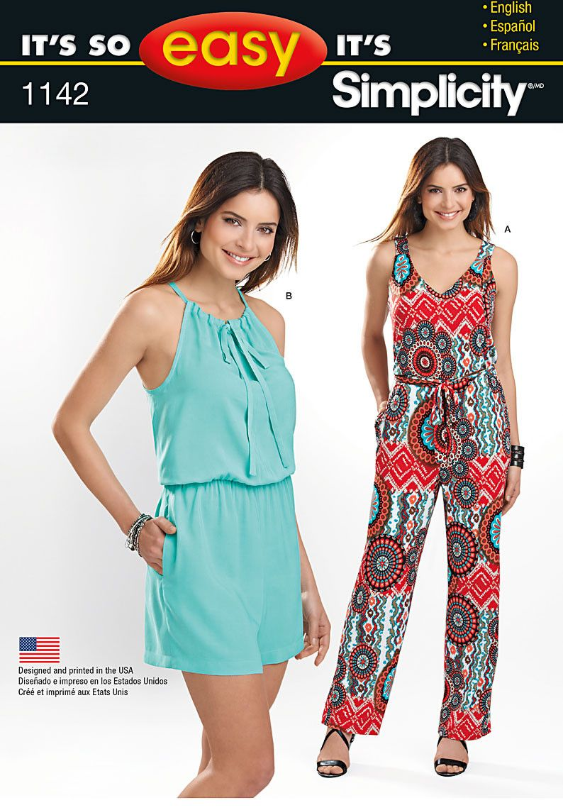 Simplicity pattern s1142 its so easy jumpsuit jaycotts simplicity pattern s1142 its so easy jumpsuit jaycotts sewing jeuxipadfo Choice Image