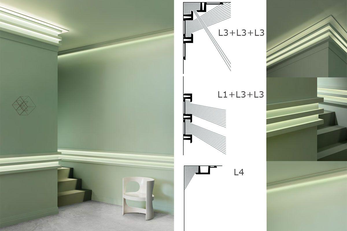 indirect lighting crown molding lights