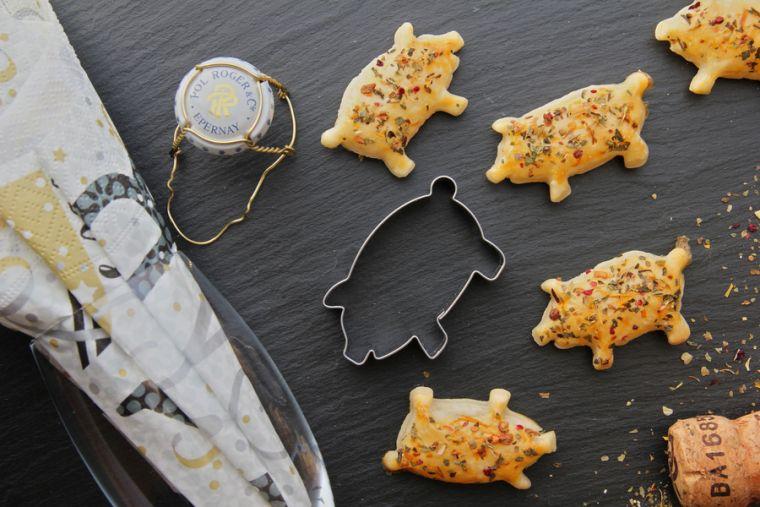 Glucksschweine Jahreswechsel Silvester Essen Silvester