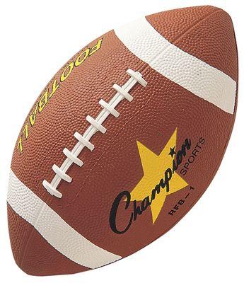 innovative design ab12f e356c Champion Sports Official Size Rubber Footballs   Epic Sports