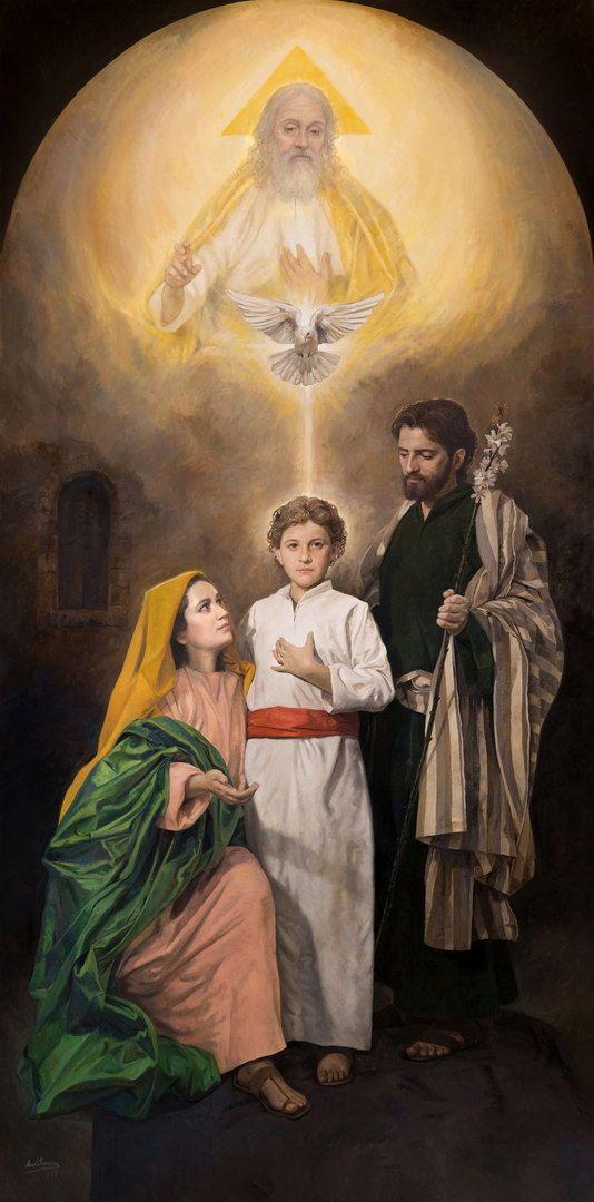Arte Sacro Imagen Sagrada Familia Sagrada Familia De Nazareth Sagrada Familia De Nazaret
