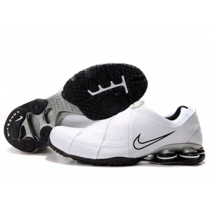Nike sports Nike Shox Shoes, Nike Mens Shoes Buy Nike Shox R5 Leather  White Black 69