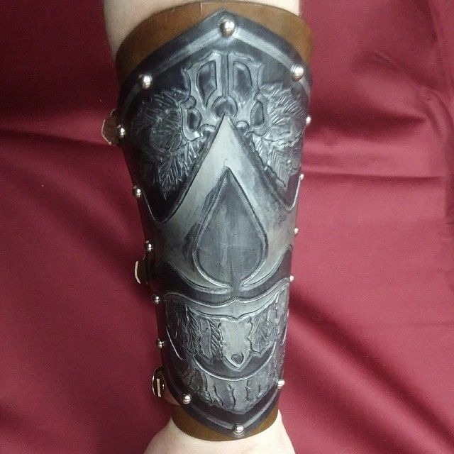 Assassins Creed Archer Tattoo On Lower Arm Photo 1