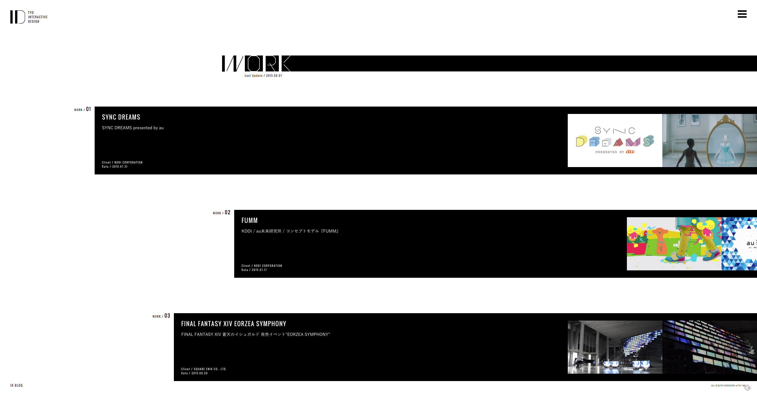 TYO #interactive #project #animation #loading #menu #hamburger #hambergermenu #black #white #hover #mouseover