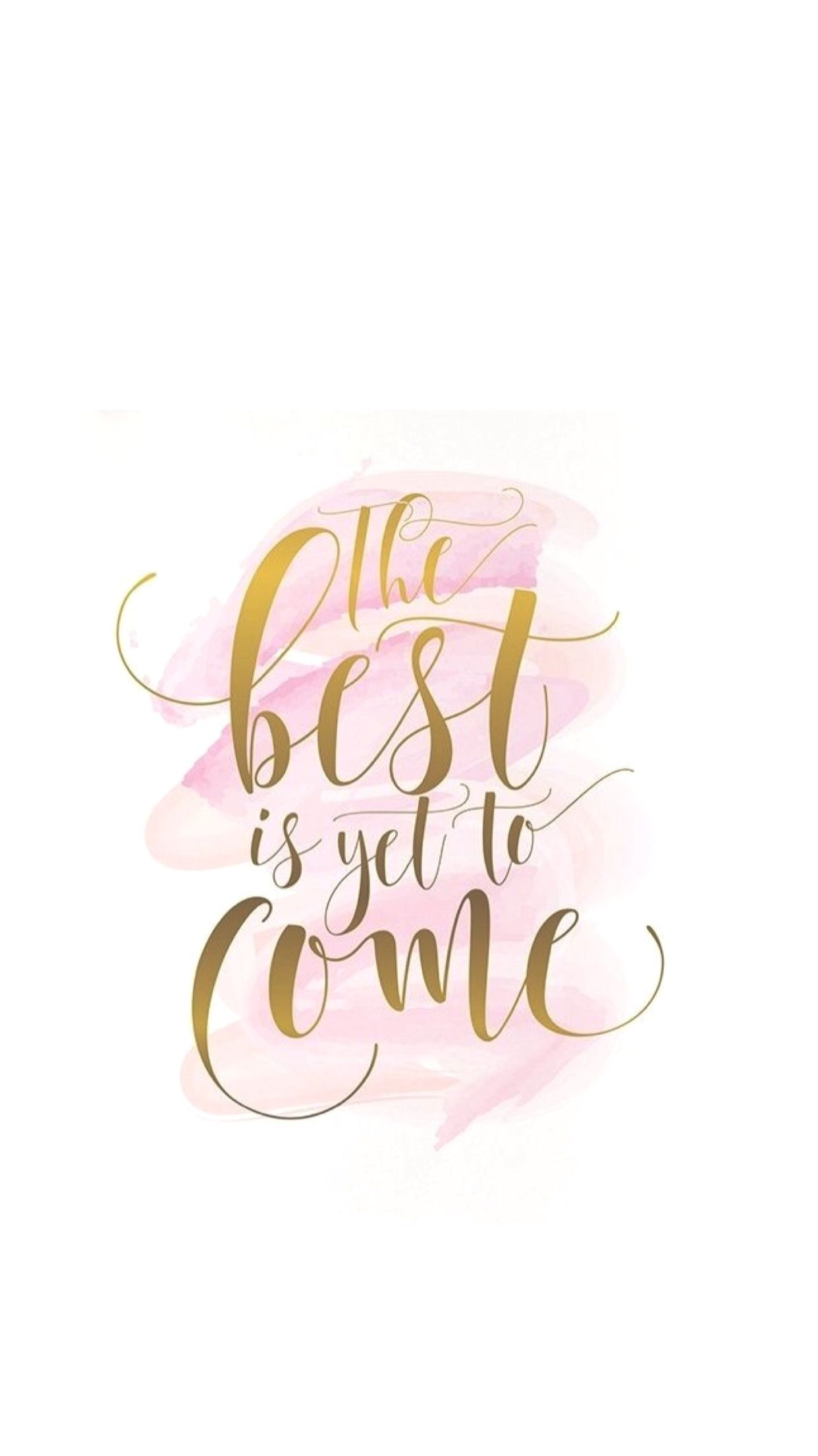 The best is yet to come. 💗💗💗