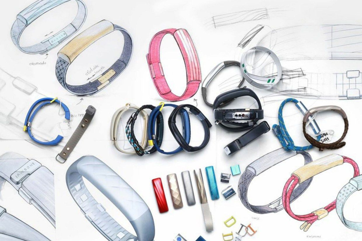 Meet Jawbone\'s new wearable, the Up3