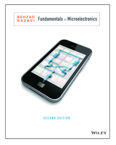 Book Cover For Fundamentals Of Microelectronics Physics Textbook Solutions Conceptual Understanding