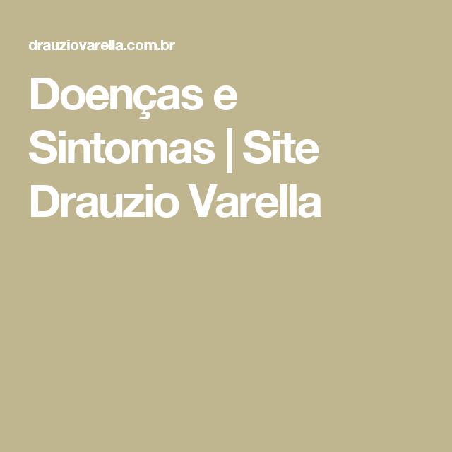 Doenças e Sintomas| Site Drauzio Varella