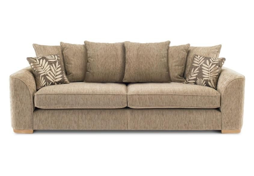 Furniture Village Annalise 4 seater casual back sofa (split frame) - lonsdale - sofa sets