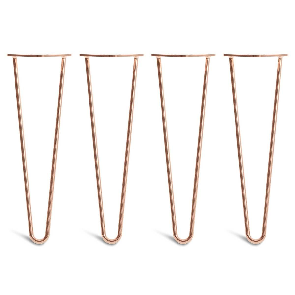 Copper Hairpin Legs Hairpin Legs Table Legs Midcentury Modern