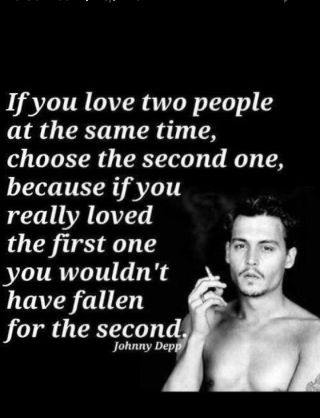 Johnny Depp Quotes About Love Prepossessing Words Of Johnny Depp  Words Of Your Mind  Pinterest  Johnny Depp