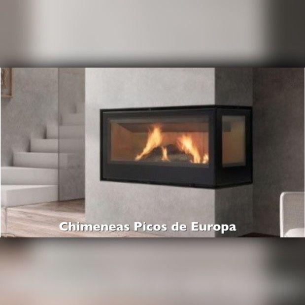 Chimeneas Con Cristal Lateral De Distintos Tamanos Y Acabados Fireplace Home Decor Home
