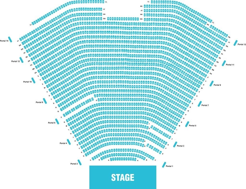 Ruth Eckerd Hall Seating Chart Seating Charts Chart How To Memorize Things