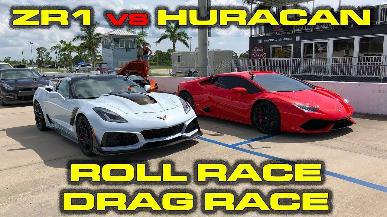 2019 755 Hp Chevrolet Corvette Zr1 1 4 Mile And Roll Racing Vs 602
