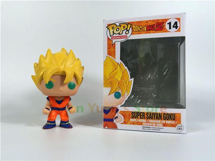 Funko Pop Dragon Ball Z Vinyl Figure Goku Vegeta Cell Piccolo Frieza Action Doll Super Saiyan Model Anime Dragonball Z Toy