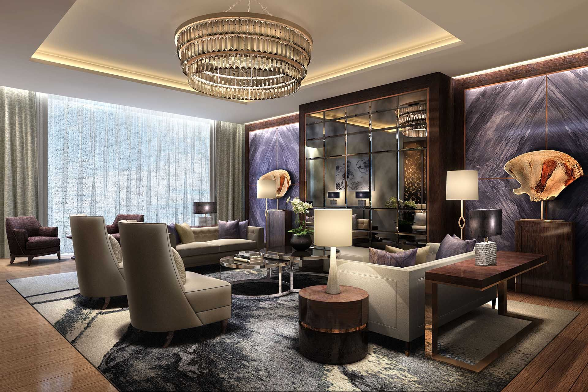 Jw marriott muscat interior designers wimberly interiors for Luxury residential interior designers london