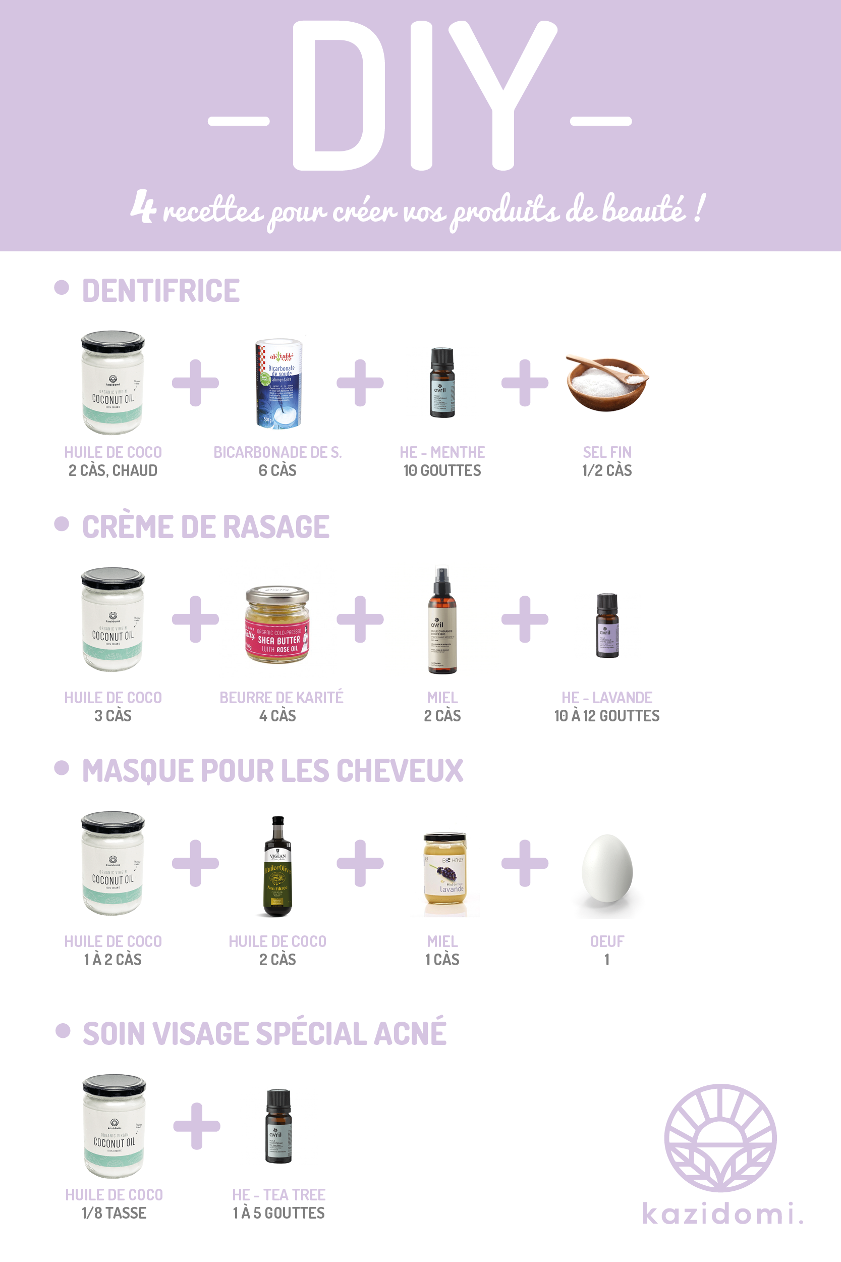 Epingle Par Kazidomi Healthy Veggie Food Sur Do It Yourself Produits De Beaute Maquillage Fait Maison Produit Beaute Maison