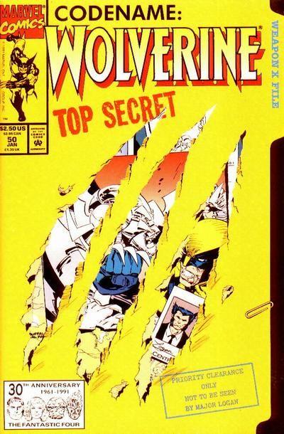Wolverine Vol. 2 # 50 by Marc Silvestri & Dan Green