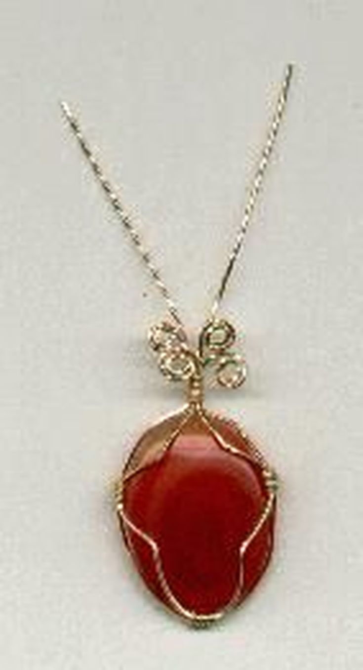 Learn How to Wire Wrap Cabochons, Sea Glass and More | Wire wrapping ...