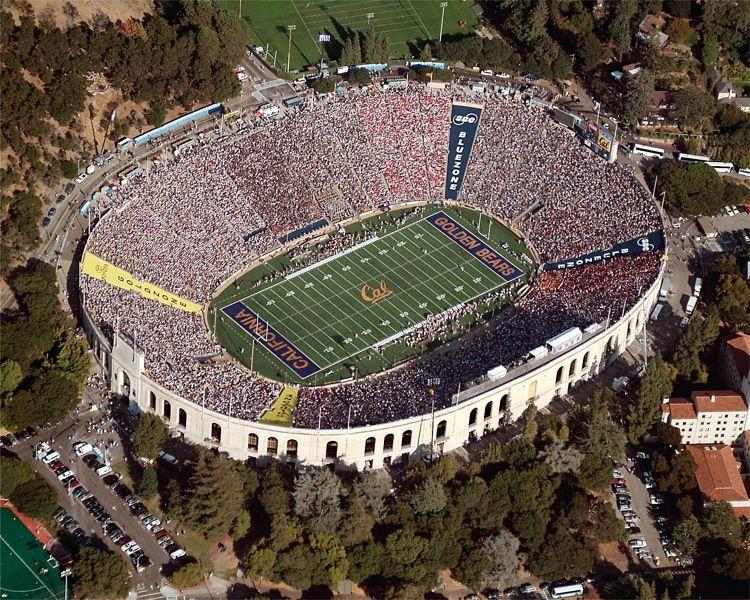 Memorial Stadium Image Gallery Stadium Berkeley Campus City